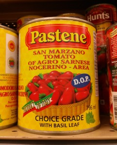 Pastene DOP Canned San Marzano Tomatoes
