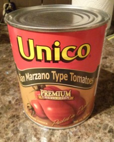 Unico San Marzano Type Canned Tomatoes