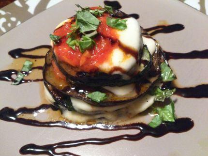 Eggplant Zucchini Parmesan